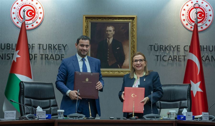 Türkiye-Ürdün arasında ticari iş birliği anlaşması imzalandı