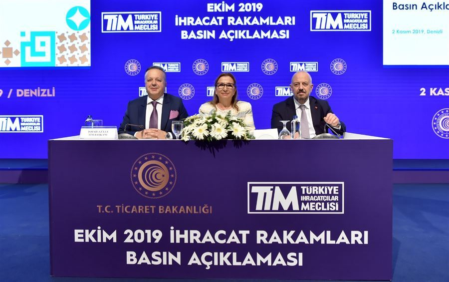 Ticaret Bakanı Ruhsar Pekcan, Ekim Ayı İhracat Rakamlarını Açıkladı